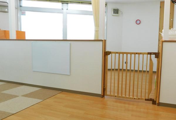 0歳児(もも組)の部屋